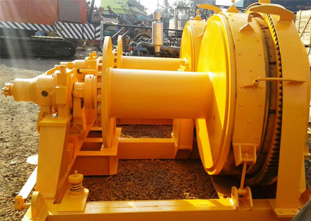 winches, Piling Winch Machine, marine winch, piling equipments